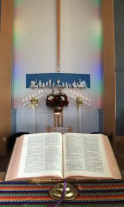 Chancel with Bible web