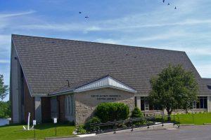 Church with Birds web