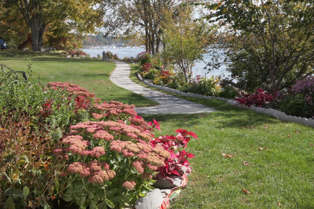 Memorial Garden in Fall