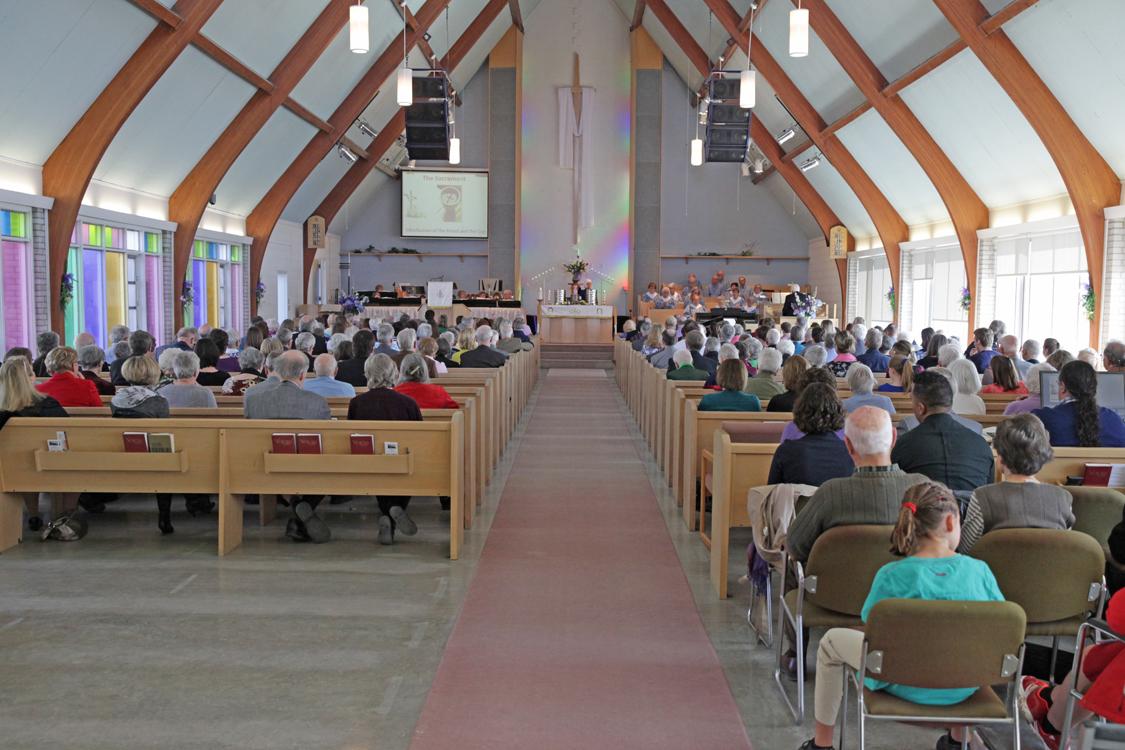 Communion on Easter Morning