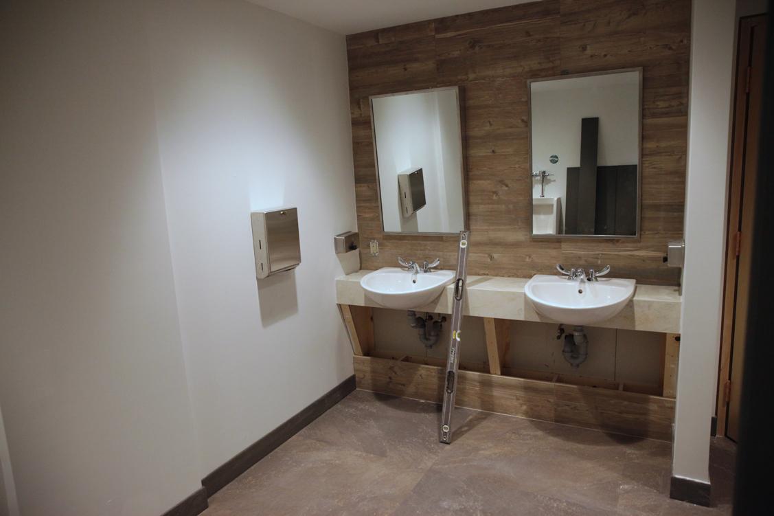 Upper level Washroom